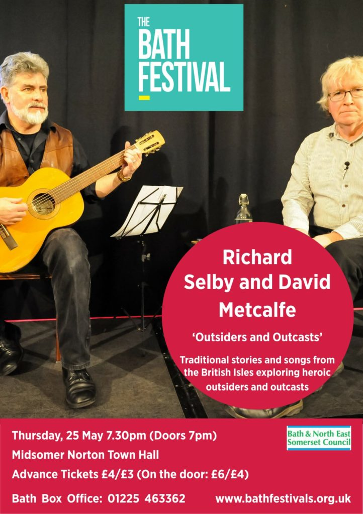 Bath Festivals Presents: Richard Selby and David Metcalfe – Outsiders and Outcasts