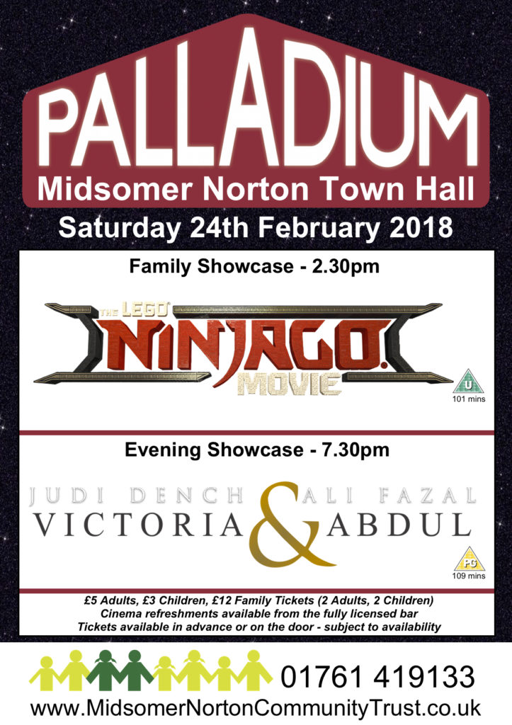 Cinema: The LEGO Ninjago Movie @ Midsomer Norton Town Hall | Midsomer Norton | United Kingdom