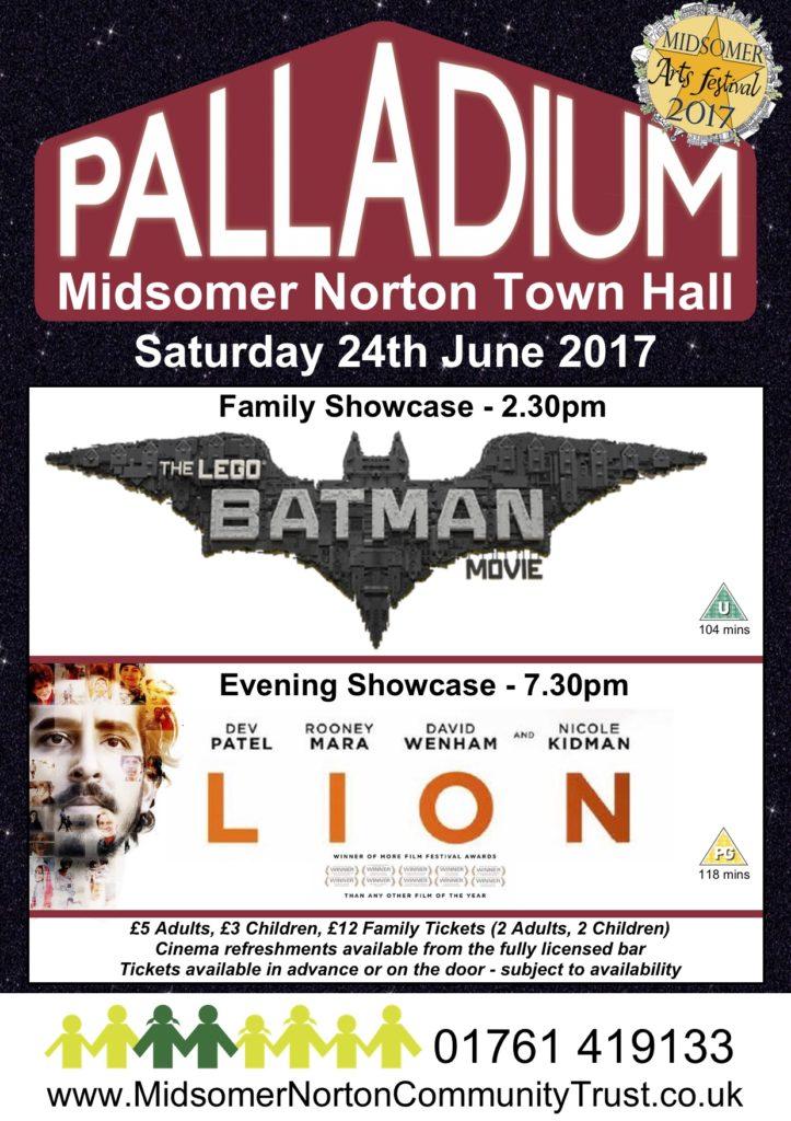 Cinema: The Lego Batman Movie @ Midsomer Norton Town Hall | Midsomer Norton | United Kingdom