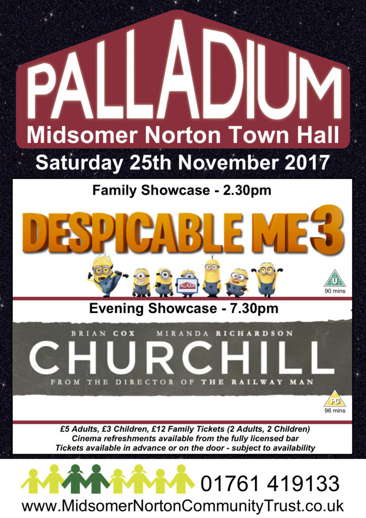 Cinema: Churchill @ Midsomer Norton Town Hall | Midsomer Norton | United Kingdom