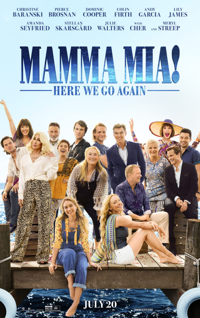 Cinema: Mama Mia! Here We Go Again - Sing-along @ Midsomer Norton Town Hall | Midsomer Norton | United Kingdom