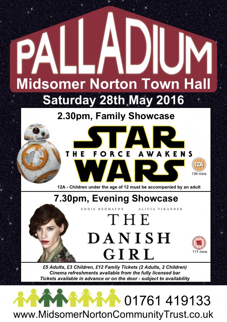 Cinema: Star Wars - The Force Awakens @ Midsomer Norton Town Hall | Midsomer Norton | United Kingdom