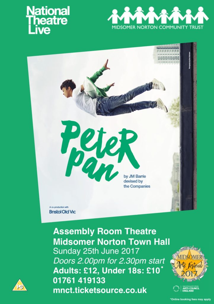 NT Live: Peter Pan @ Midsomer Norton Town Hall | Midsomer Norton | United Kingdom