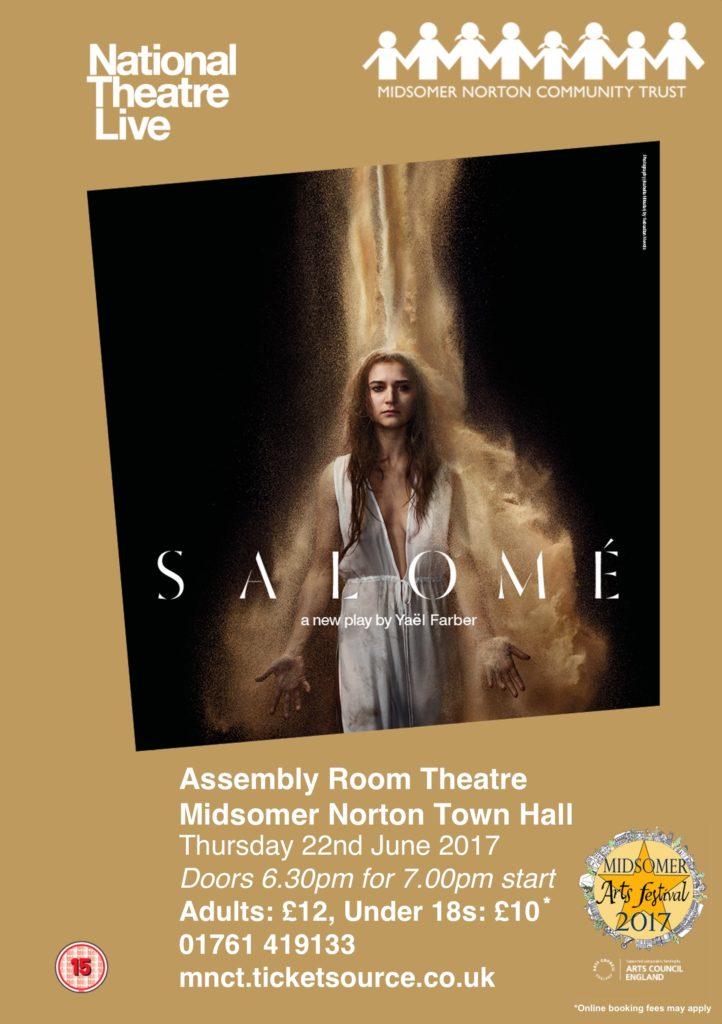 NT Live: Salome @ Midsomer Norton Town Hall | Midsomer Norton | United Kingdom