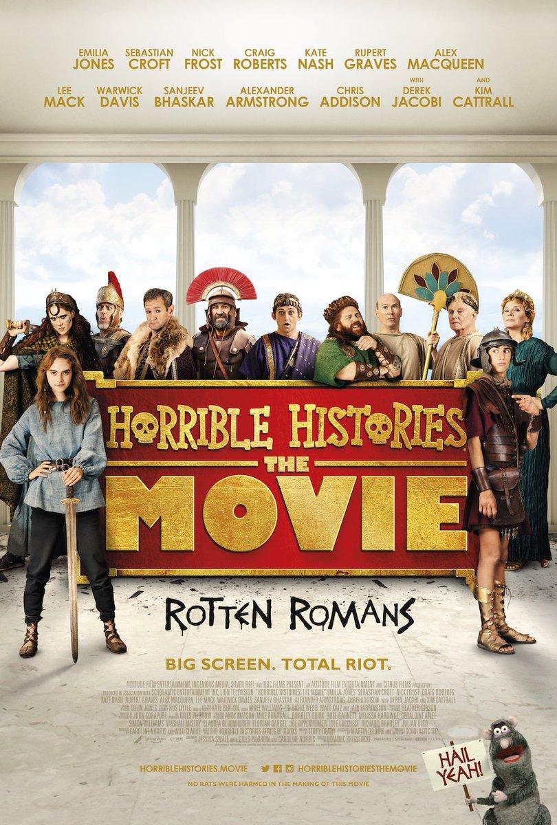 Cinema: Horrible Histories: The Movie – Rotten Romans @ Midsomer Norton Town Hall | Midsomer Norton | United Kingdom