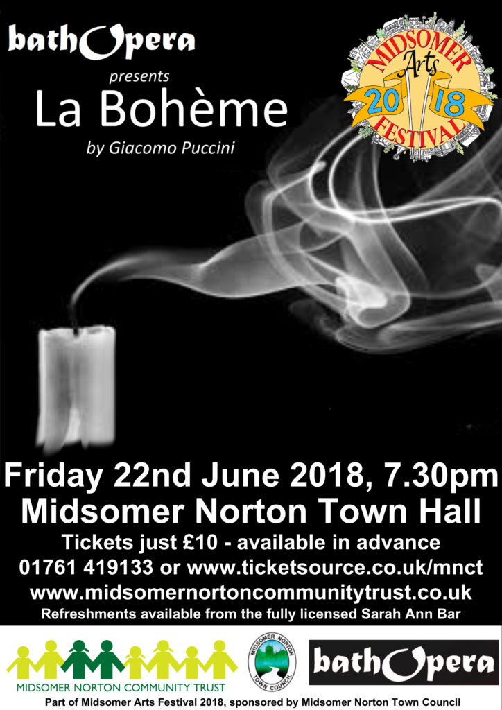 Bath Opera: La Bohème @ Midsomer Norton Town Hall | Midsomer Norton | United Kingdom
