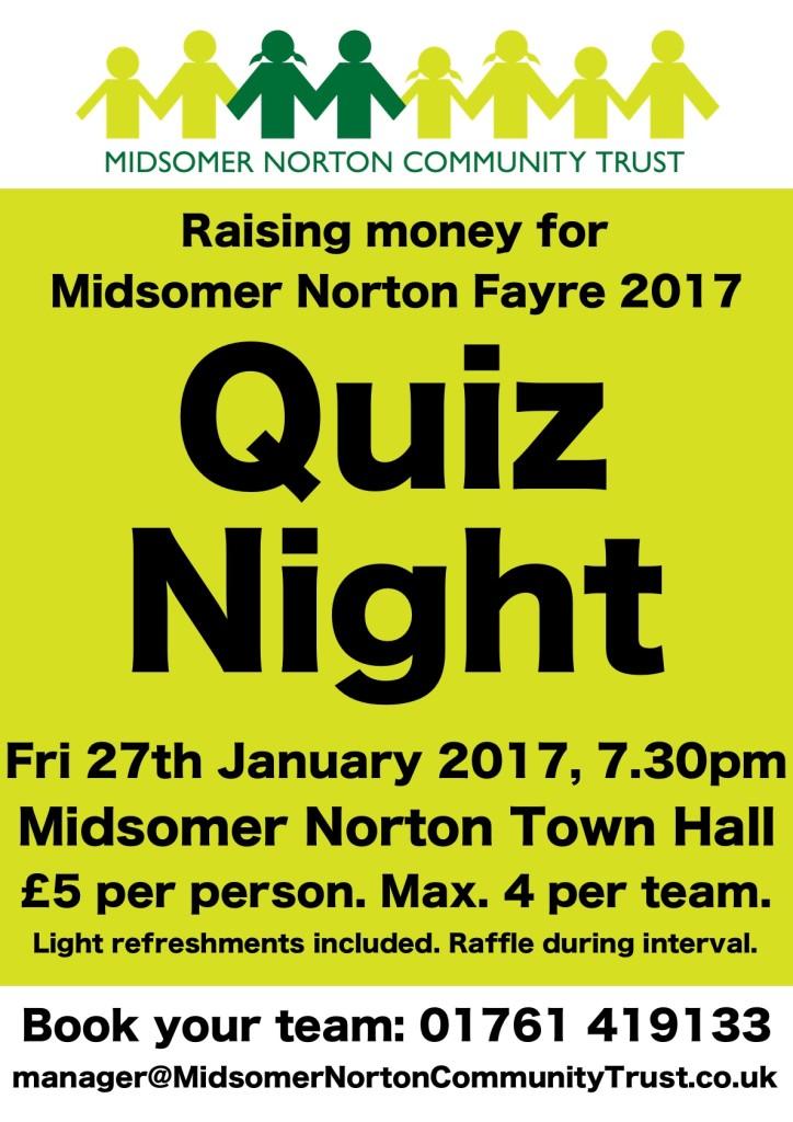 Quiz Night @ Midsomer Norton Town Hall | Midsomer Norton | England | United Kingdom