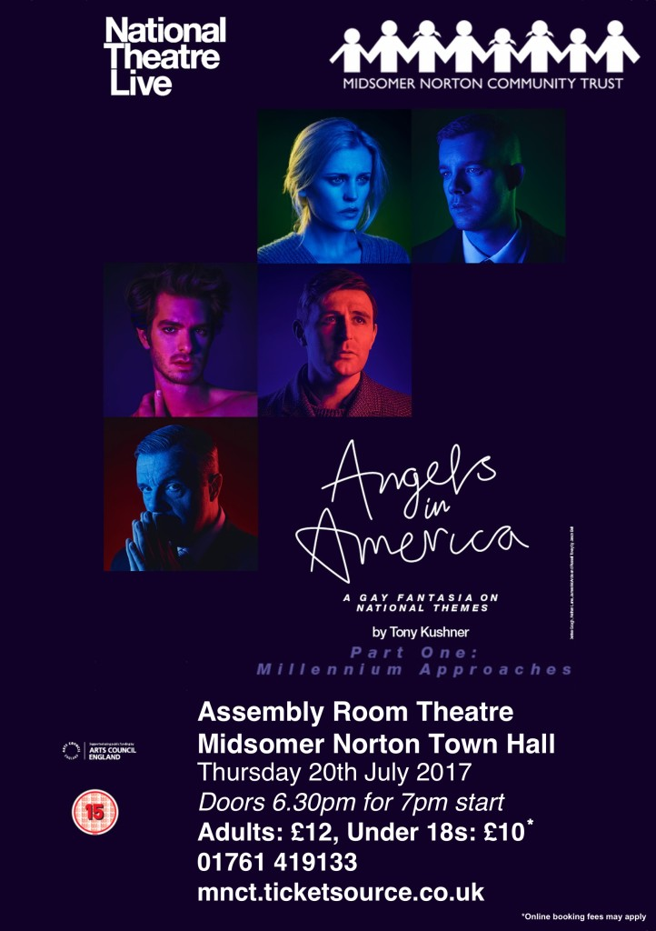 NT Live: Angels in America - Part 1: Millennium Approaches @ Midsomer Norton Town Hall | Midsomer Norton | United Kingdom