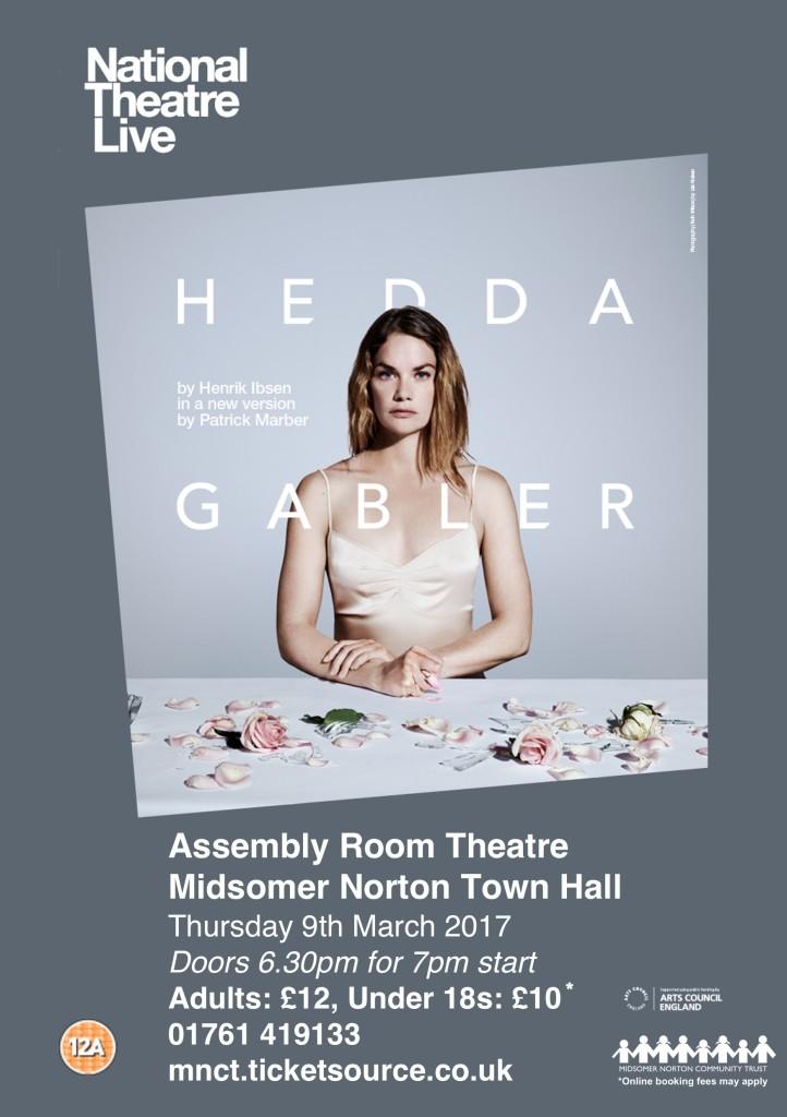 NT Live: Hedda Gabler @ Midsomer Norton Town Hall | Midsomer Norton | United Kingdom