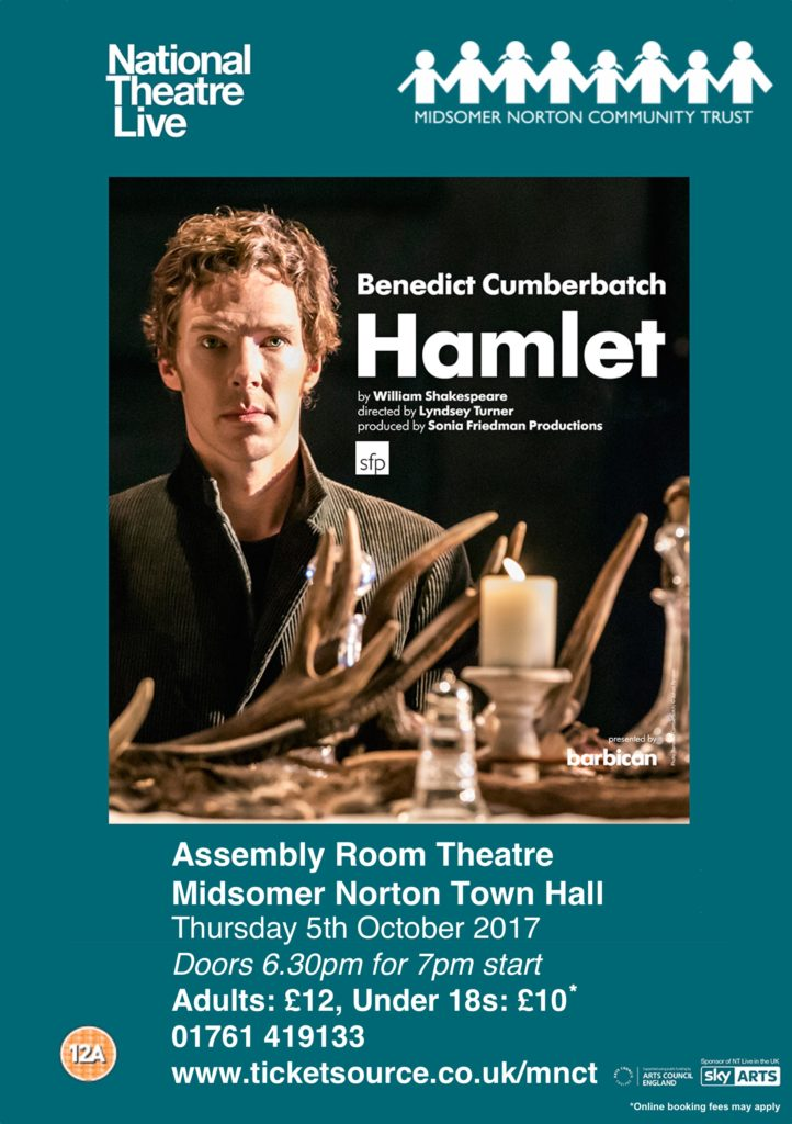 NT Live: Hamlet (Encore) @ Midsomer Norton Town Hall | Midsomer Norton | United Kingdom