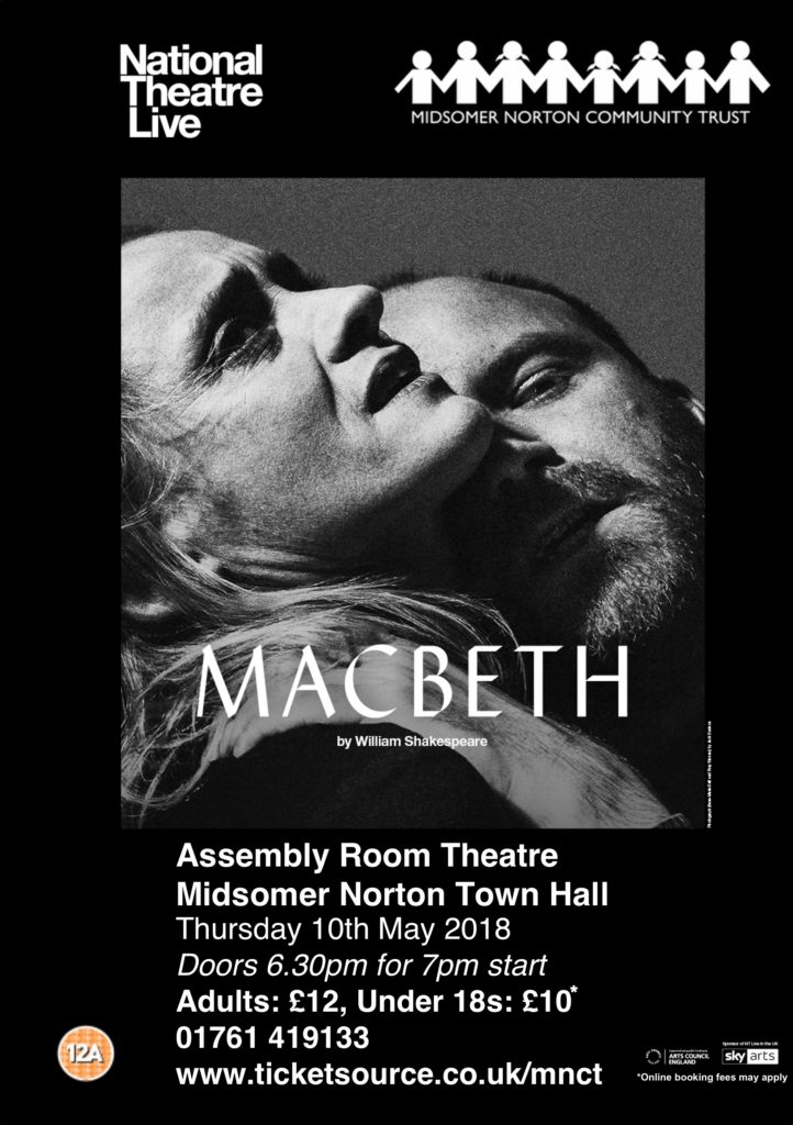 NT Live: Macbeth @ Midsomer Norton Town Hall | Midsomer Norton | United Kingdom