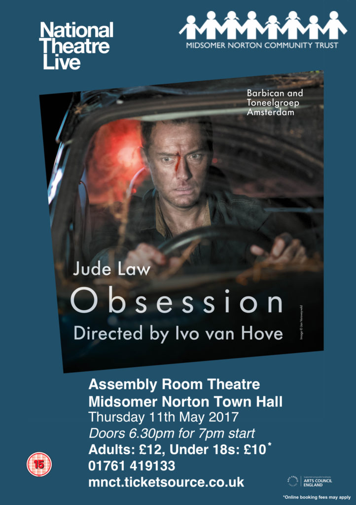 NT Live: Obsession @ Midsomer Norton Town Hall | Midsomer Norton | United Kingdom