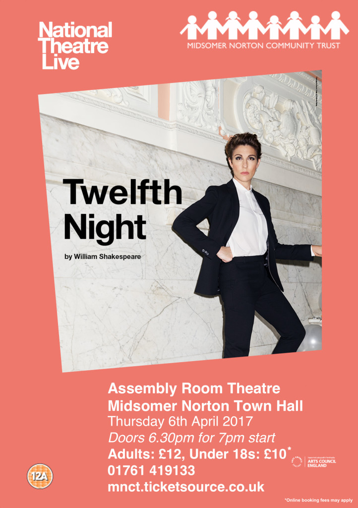 NT Live: Twelfth Night @ Midsomer Norton Town Hall | Midsomer Norton | United Kingdom