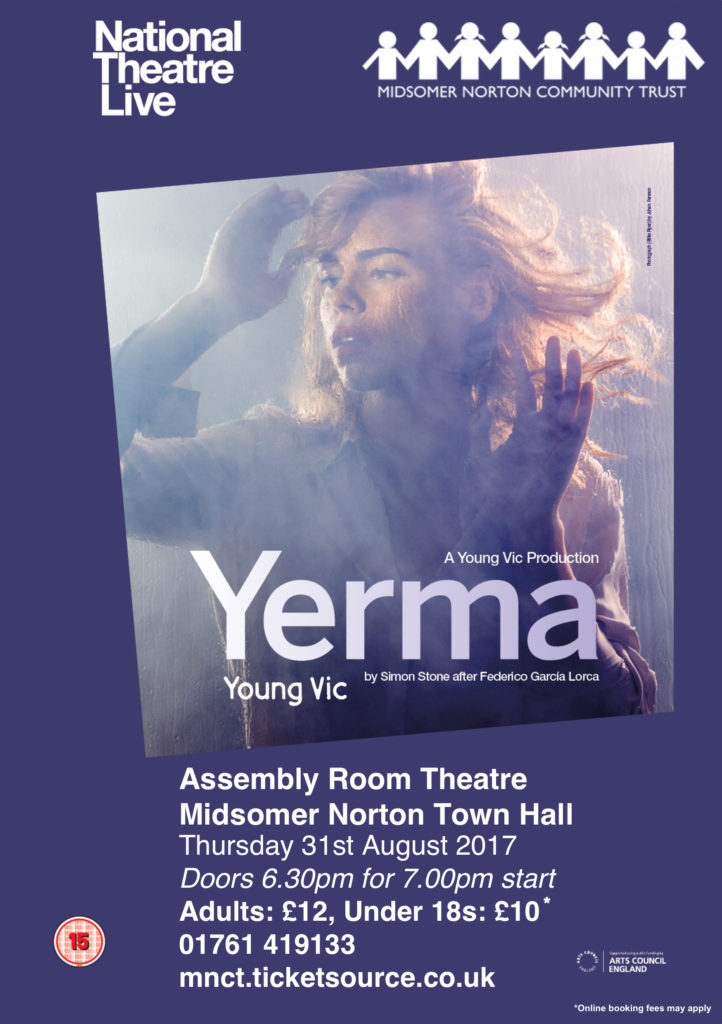 NT Live: Yerma @ Midsomer Norton Town Hall | Midsomer Norton | United Kingdom