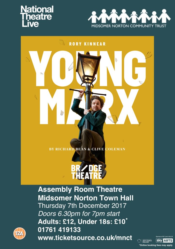 NT Live: Young Marx @ Midsomer Norton Town Hall | Midsomer Norton | United Kingdom