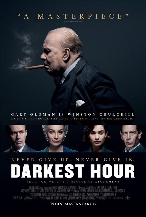 Cinema: Darkest Hour @ Midsomer Norton Town Hall | Midsomer Norton | United Kingdom