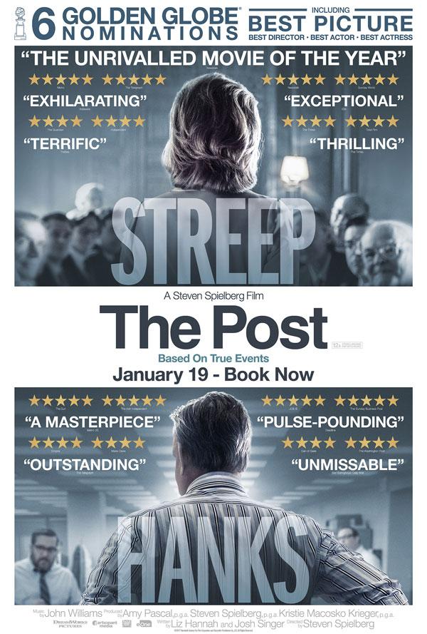 Cinema: The Post @ Midsomer Norton Town Hall | Midsomer Norton | United Kingdom