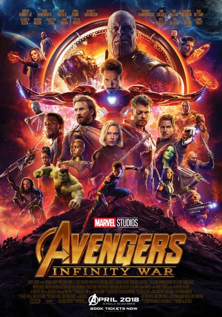 Cinema: Avengers - Infinity War @ Midsomer Norton Town Hall | Midsomer Norton | United Kingdom