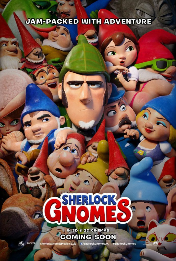 Cinema: Sherlock Gnomes @ Midsomer Norton Town Hall | Midsomer Norton | United Kingdom
