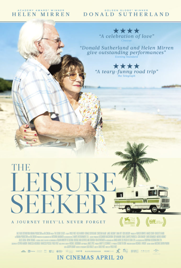 Cinema: The Leisure Seeker @ Midsomer Norton Town Hall | Midsomer Norton | United Kingdom