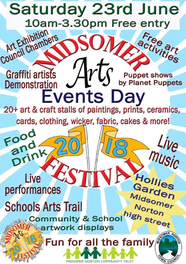 Midsomer Arts Festival - Events Day @ Hollies Garden | Midsomer Norton | England | United Kingdom