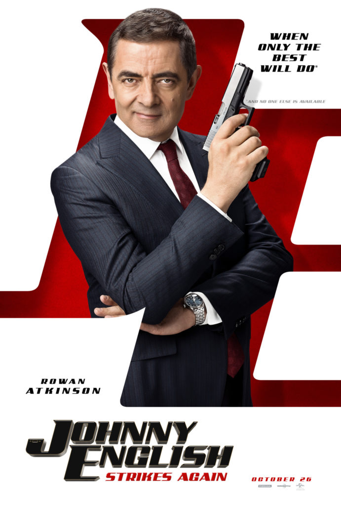 Cinema: Johnny English Strikes Again @ Midsomer Norton Town Hall | Midsomer Norton | United Kingdom