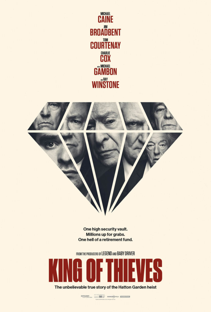 Cinema: King of Thieves @ Midsomer Norton Town Hall | Midsomer Norton | United Kingdom