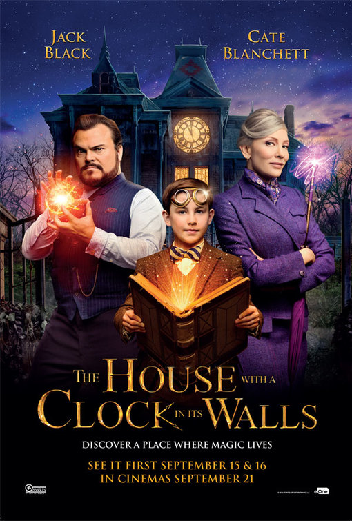 Cinema: The House With A Clock In Its Walls @ Midsomer Norton Town Hall | Midsomer Norton | United Kingdom