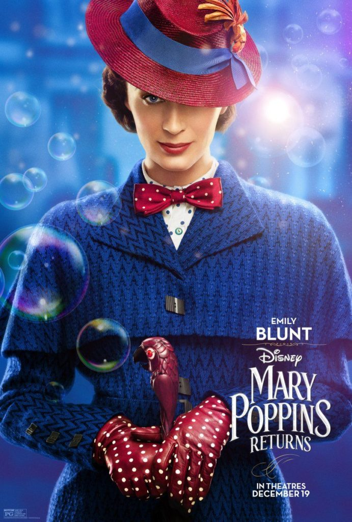 Cinema: Mary Poppins Returns @ Midsomer Norton Town Hall | Midsomer Norton | United Kingdom
