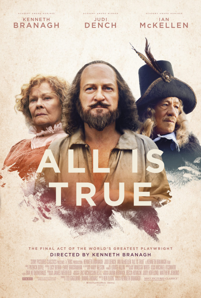 Cinema: All Is True @ Midsomer Norton Town Hall | Midsomer Norton | United Kingdom
