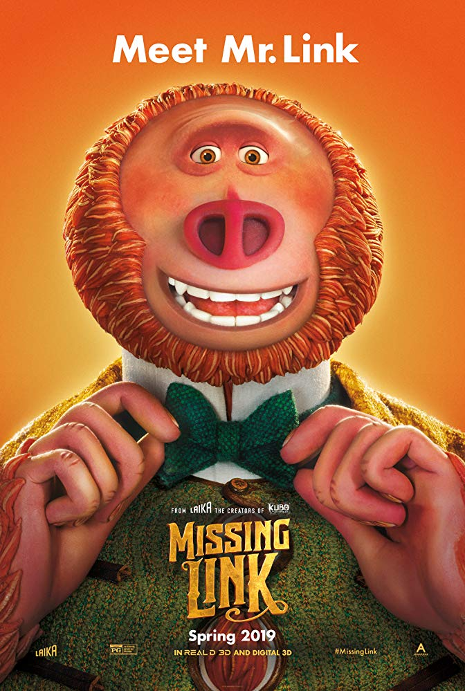 Cinema: Missing Link @ Midsomer Norton Town Hall | Midsomer Norton | United Kingdom