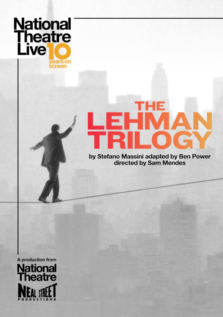 NT Live: The Lehman Trilogy @ Midsomer Norton Town Hall | Midsomer Norton | United Kingdom