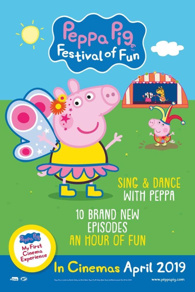 Cinema: Peppa Pig - Festival of Fun @ Midsomer Norton Town Hall | Midsomer Norton | United Kingdom