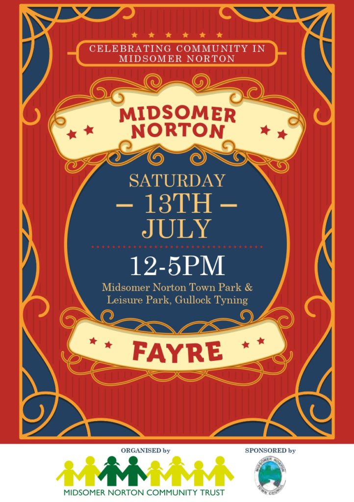 Midsomer Norton Fayre @ Town Park, Gullock Tyning