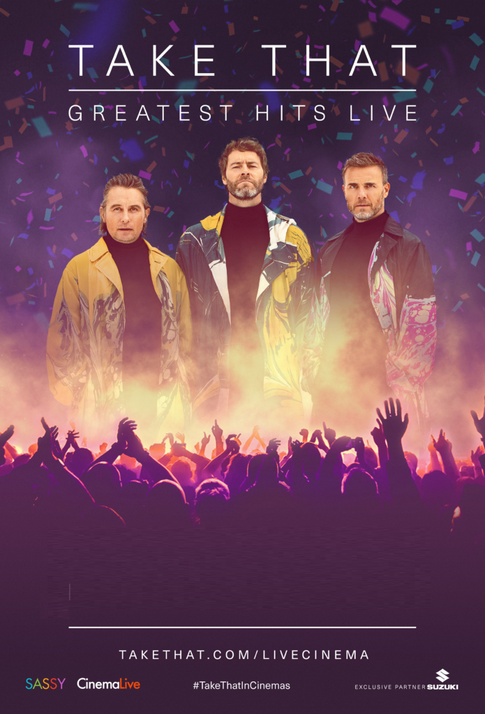 Cinema: Take That - Greatest Hits Live @ Midsomer Norton Town Hall | Midsomer Norton | United Kingdom