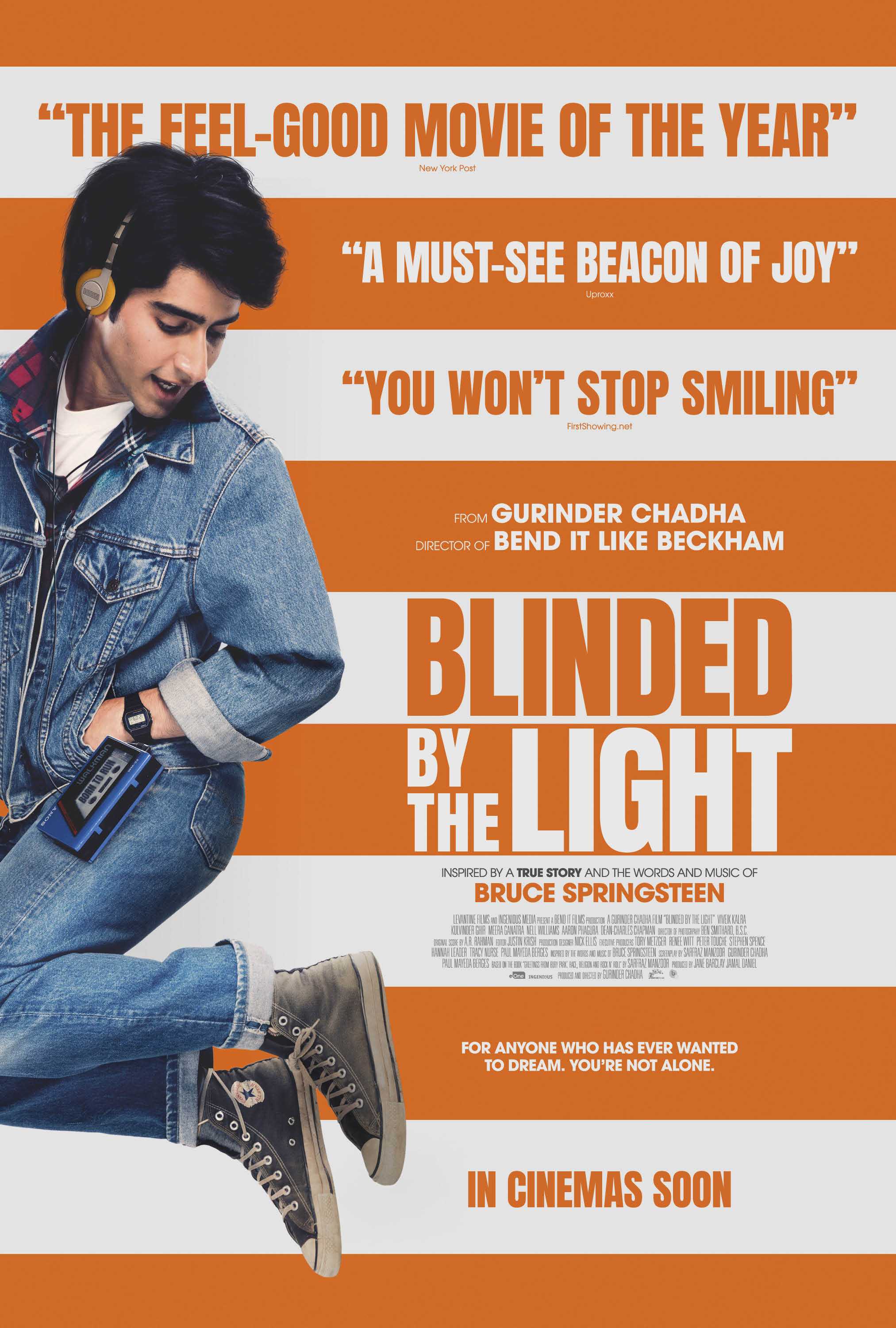 Cinema: Blinded By The Light @ Midsomer Norton Town Hall | Midsomer Norton | United Kingdom
