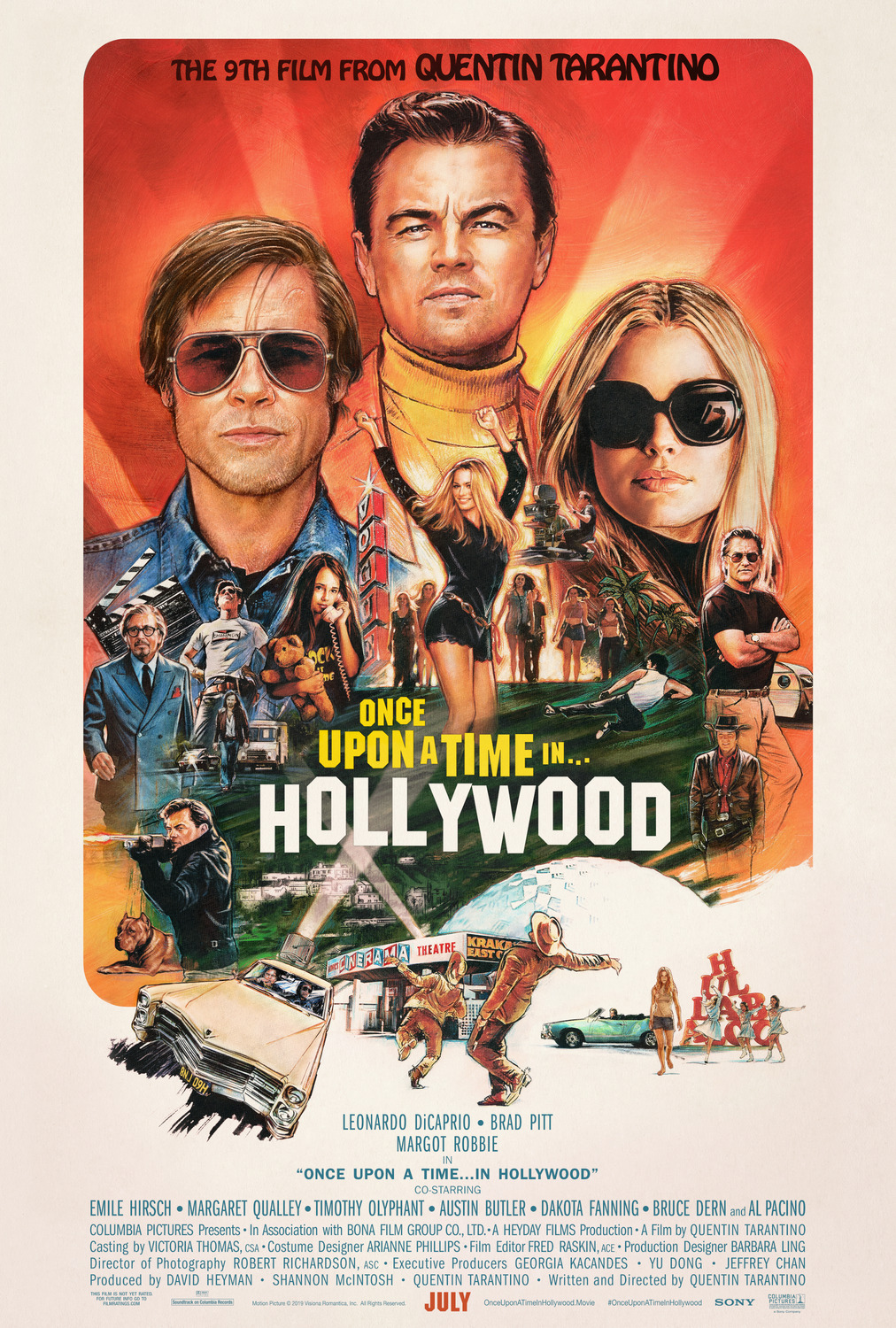 Cinema: Once Upon A Time In... Hollywood @ Midsomer Norton Town Hall | Midsomer Norton | United Kingdom