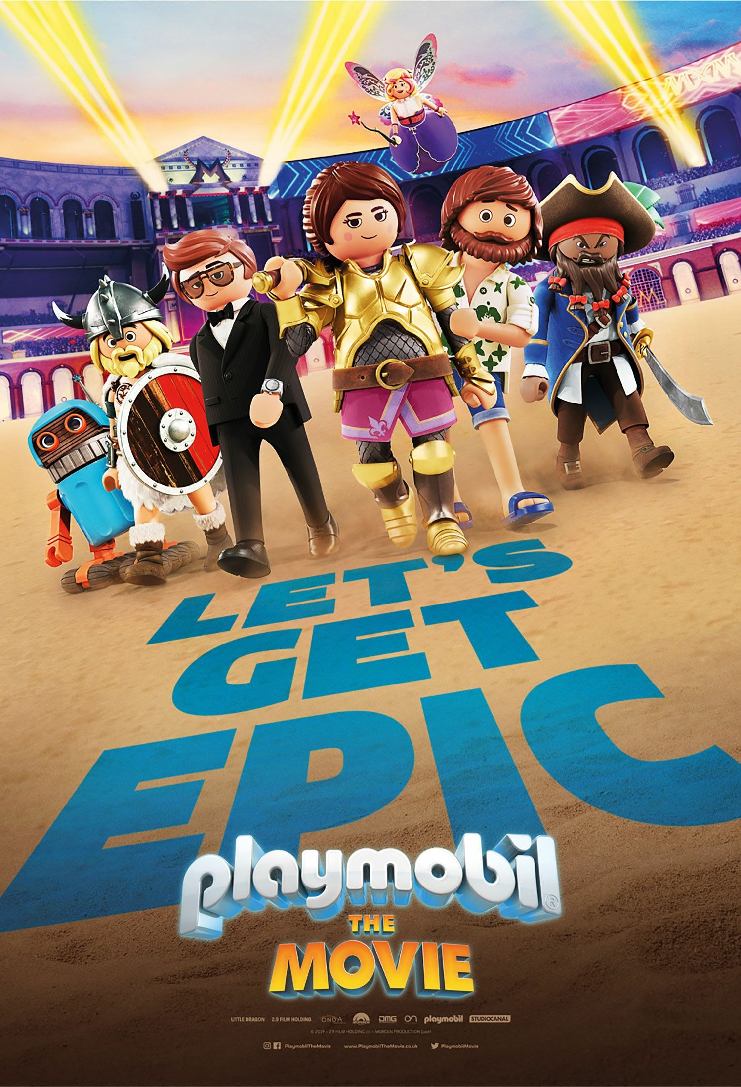 Cinema: Playmobil - The Movie @ Midsomer Norton Town Hall | Midsomer Norton | United Kingdom