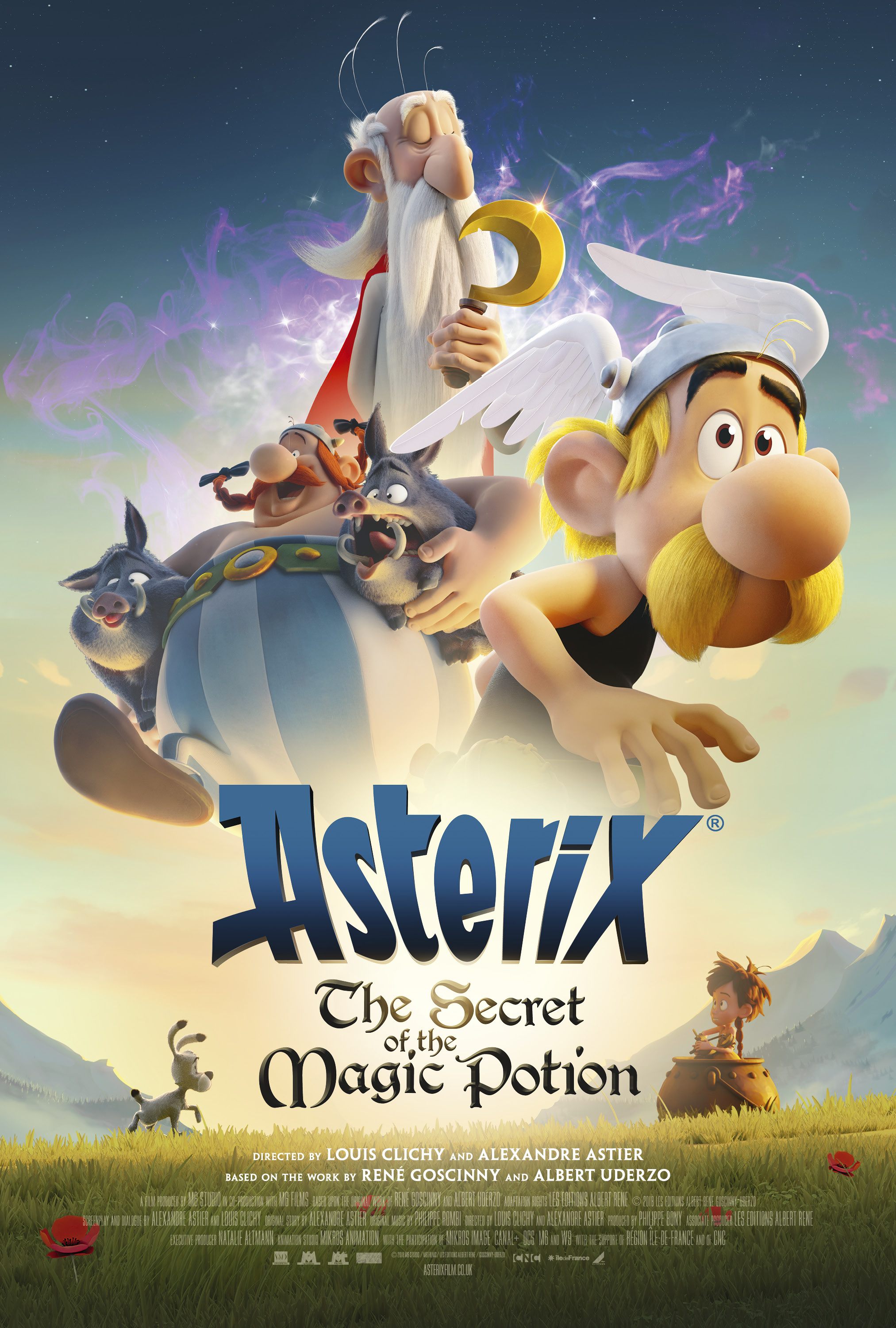 Cinema: Asterix - The Secret Of The Magic Potion @ Midsomer Norton Town Hall | Midsomer Norton | United Kingdom