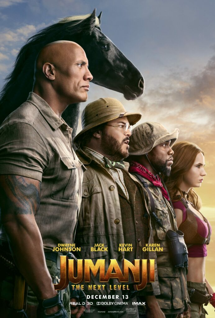 Cinema: Jumanji - The Next Level @ Midsomer Norton Town Hall | Midsomer Norton | United Kingdom