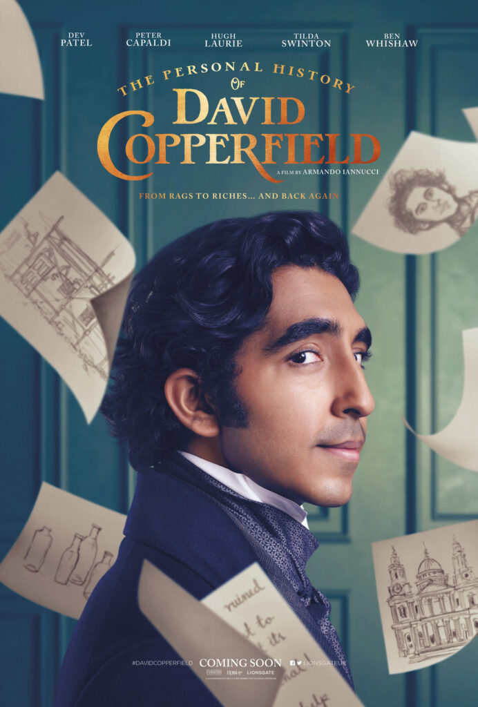 Cinema: The Personal History of David Copperfield @ Midsomer Norton Town Hall | Midsomer Norton | United Kingdom